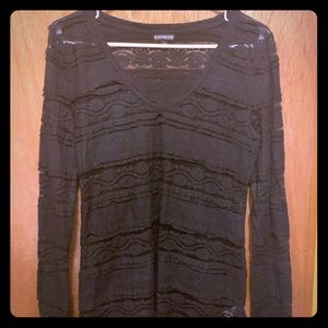 EUC lacy shirt from Express